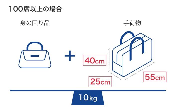 手荷物サイズ